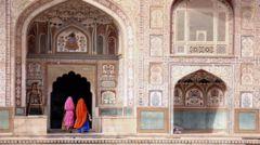 Jaipur – den rosa staden.